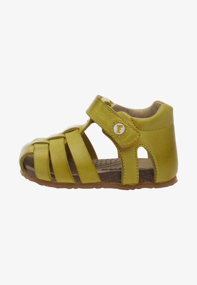 ALBY halboffener - Chaussures premiers pas - gold