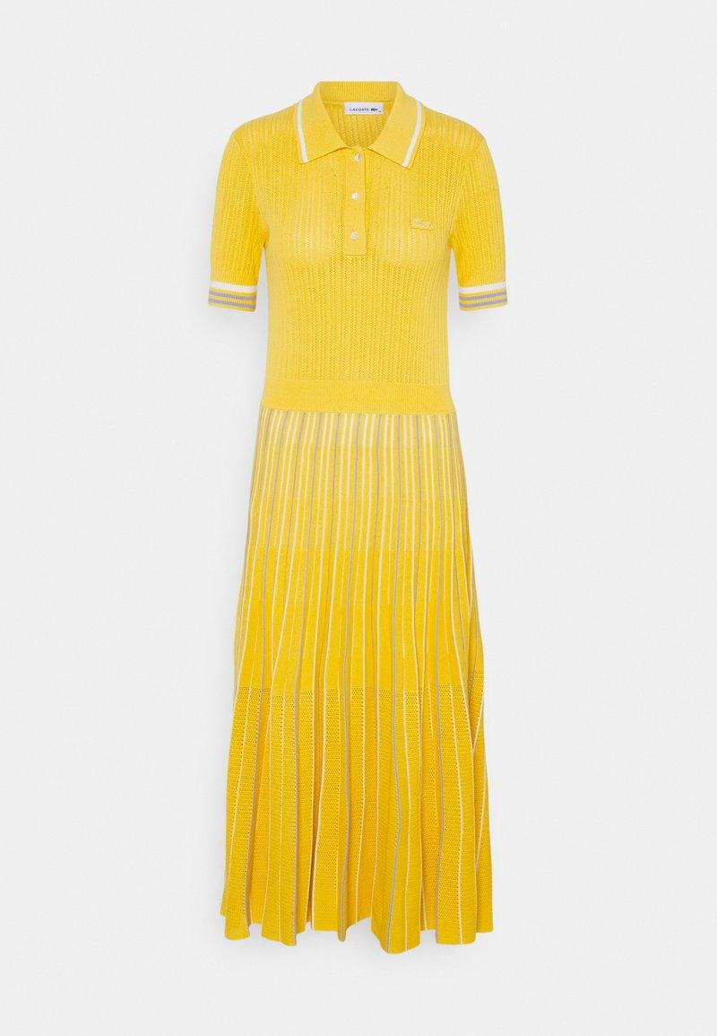 Lacoste - Jumper dress - anthemis/freesia/flour
