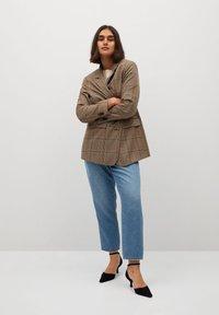 Violeta by Mango - MARINA - Straight leg jeans - mellemblå - 1