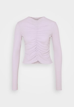 RUCHIE - Long sleeved top - solid lilac