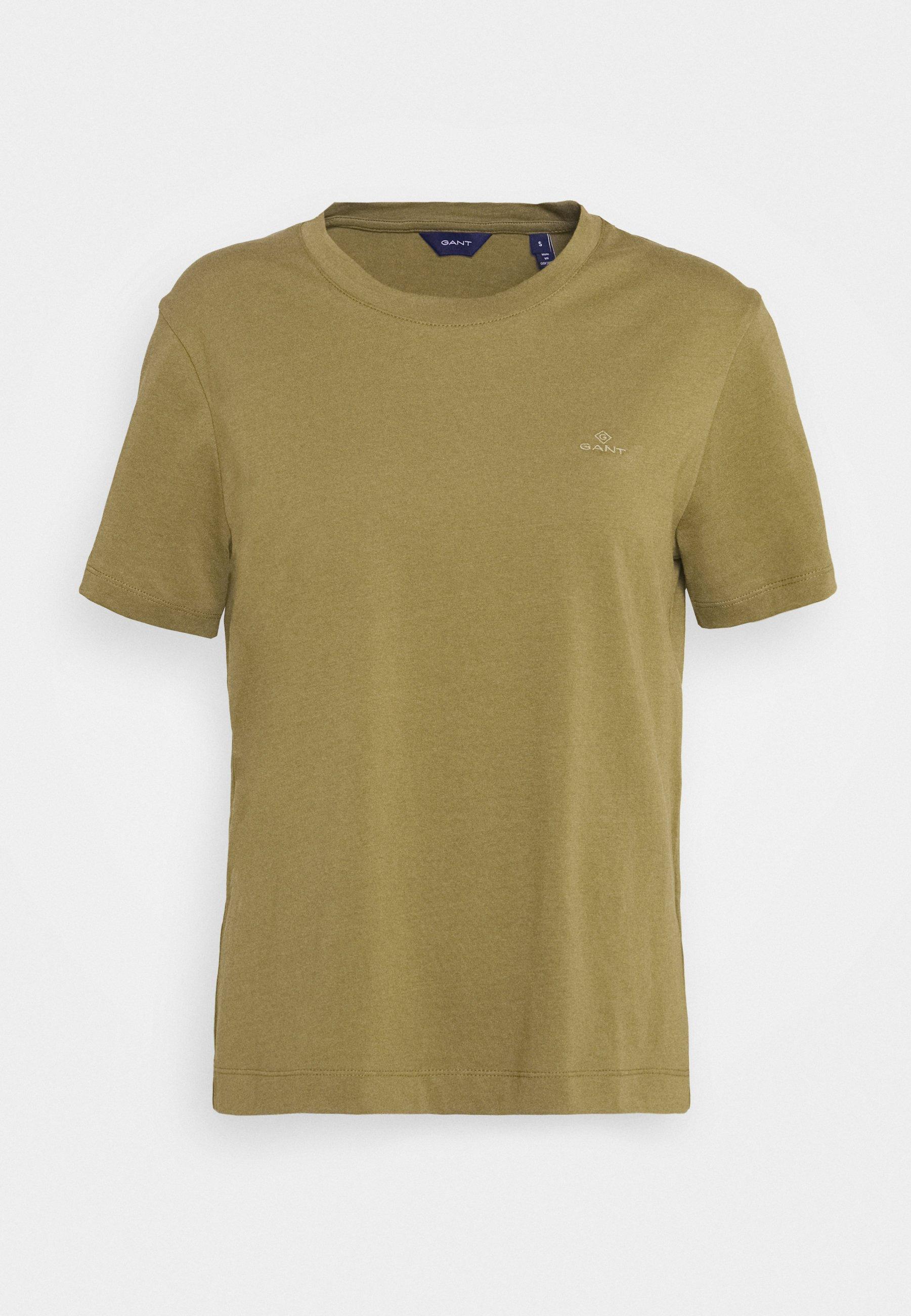 Gant The Original - T-shirts Olive Green/oliven