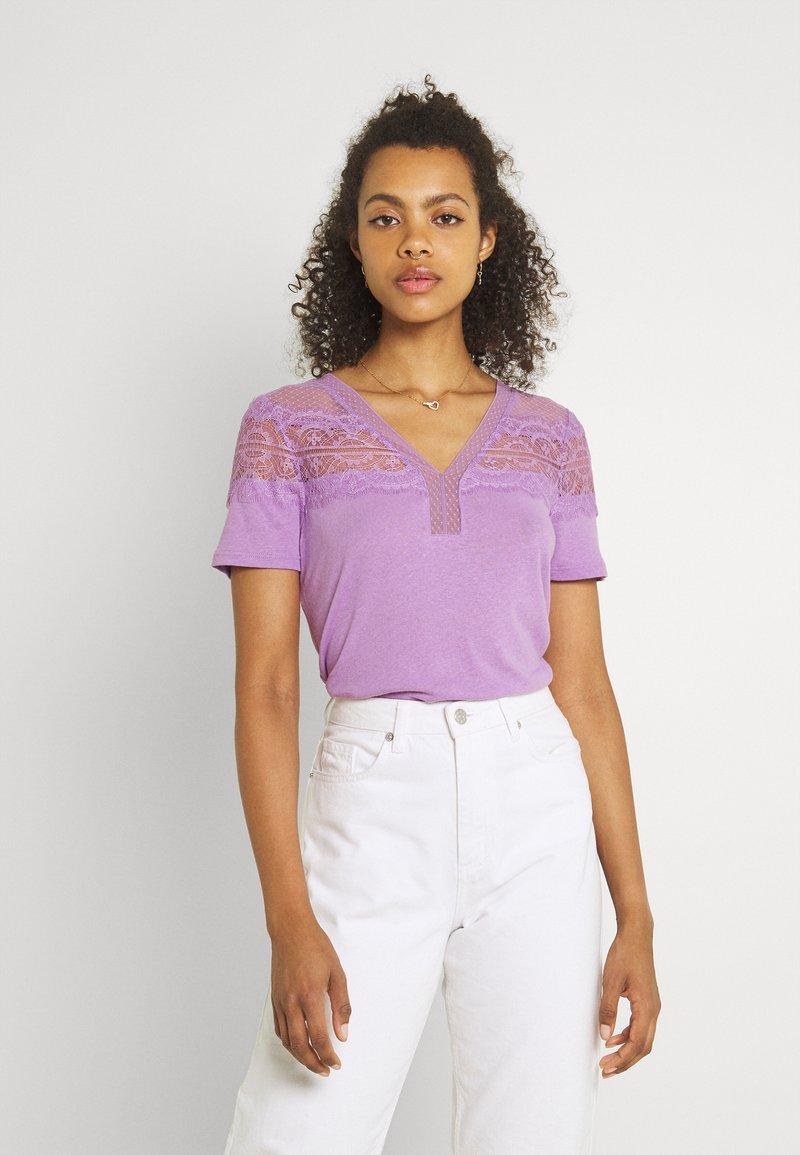 Morgan - DIETER - Camiseta básica - lilac