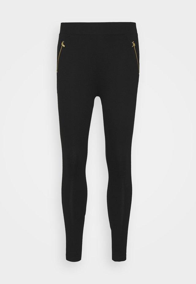 PONTE - Leggings - Trousers - black