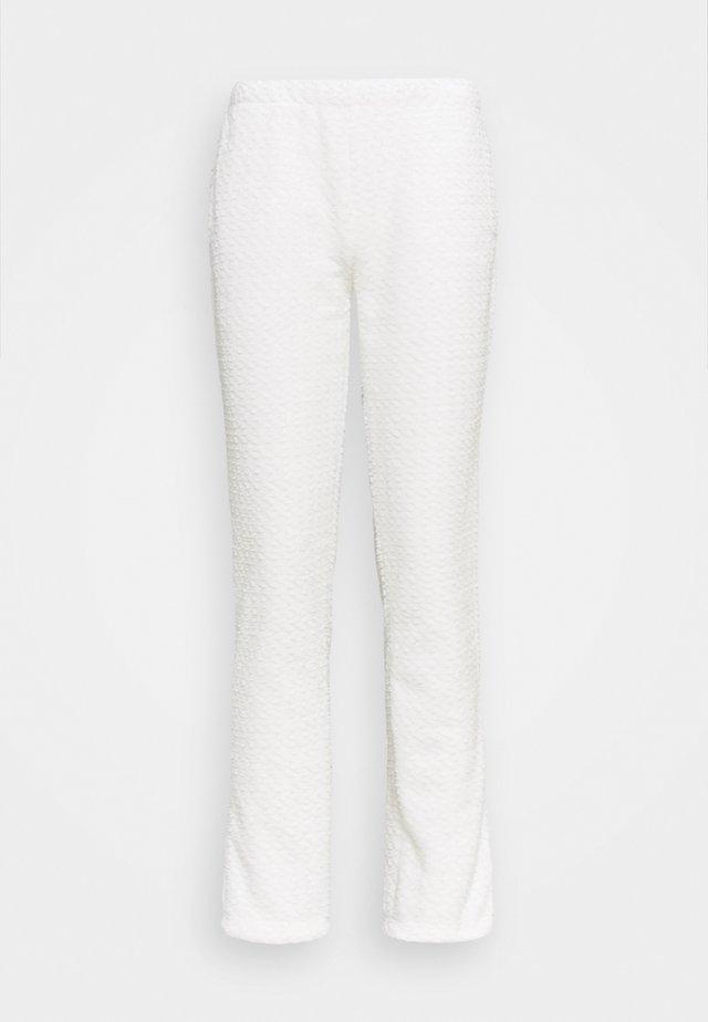 OOJAM PANTALON HOMEWEAR - Pantaloni del pigiama - ecru