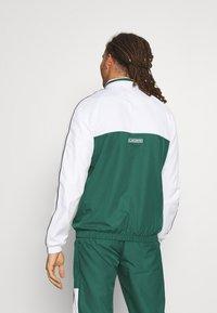 Lacoste Sport - TRACK SUIT - Trainingspak - bottle green/white/black - 2