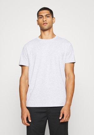 RELAXED - Basic T-shirt - grey melange