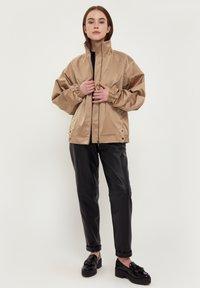 Finn Flare - Waterproof jacket - beige - 1