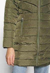 Dorothy Perkins - SUSTAINABLE LONG JACKET - Classic coat - khaki - 5