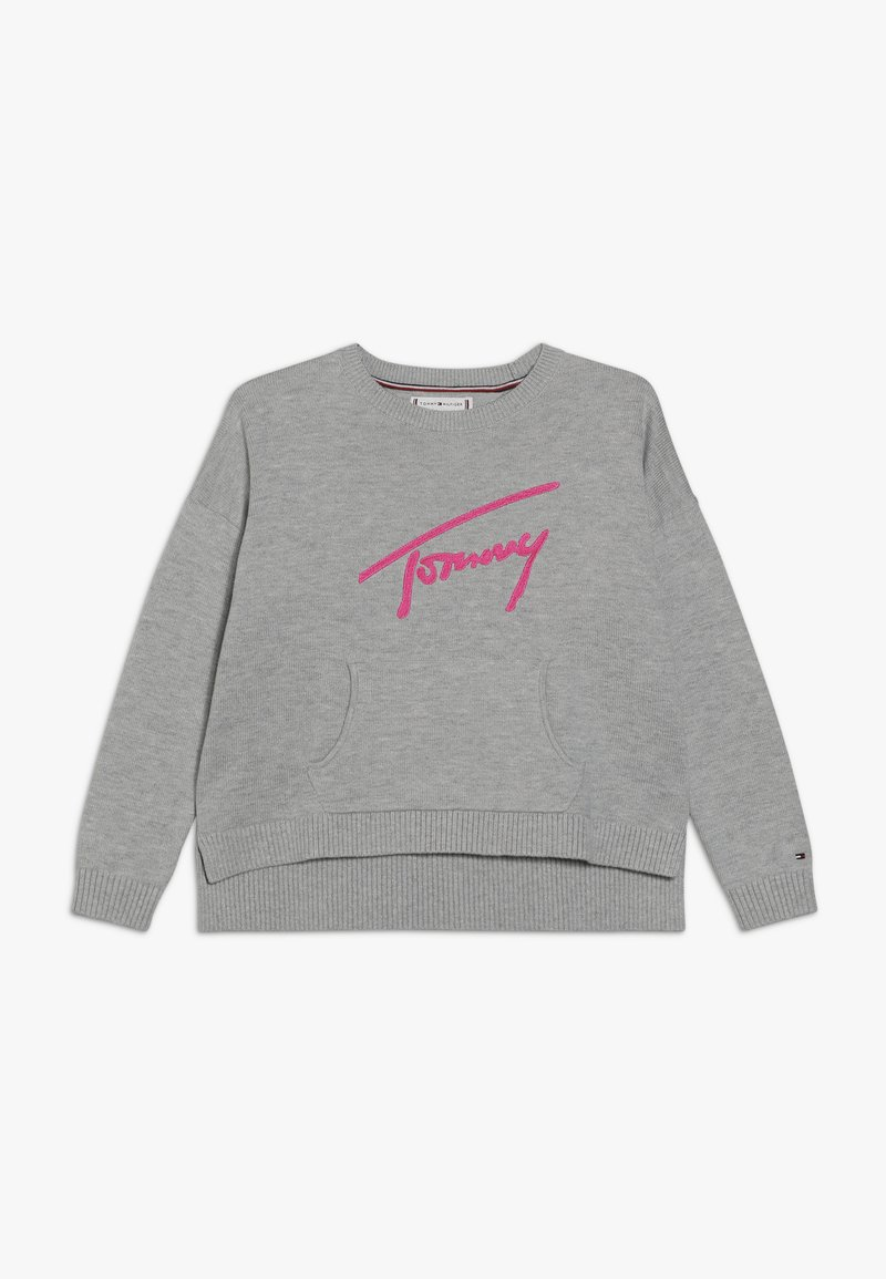 Tommy Hilfiger - ESSENTIAL SIGNATURE  - Svetr - grey