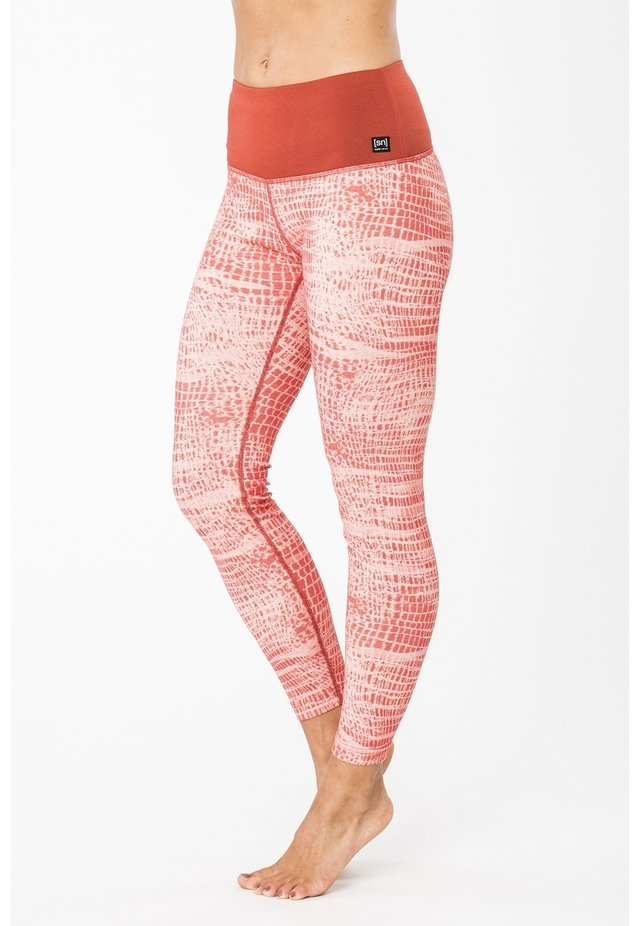 MERINO  - Leggings - light red
