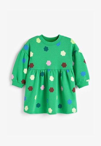 BALLOON SLEEVE - Robe d'été - green