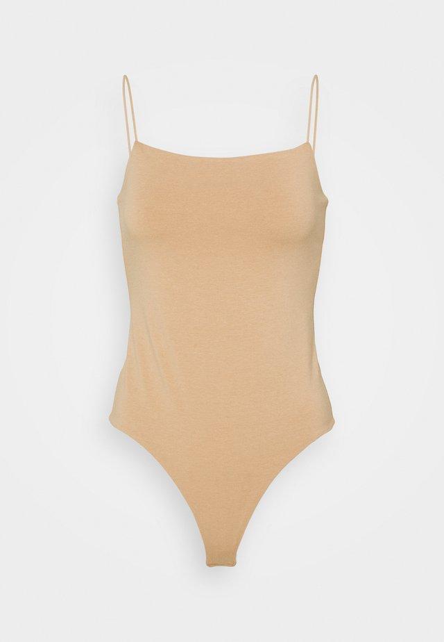 BARE BODYSUIT - Top - beige