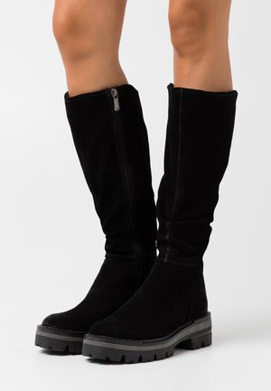 BOOTS  - Plateaustiefel - black