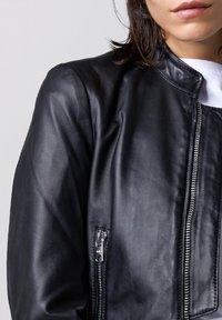 Tigha - Leather jacket - black - 3