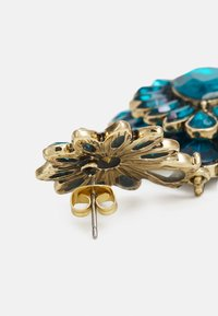 Pieces - PCLAURENCE EARRINGS - Earrings - gold-coloured/green/clear - 1