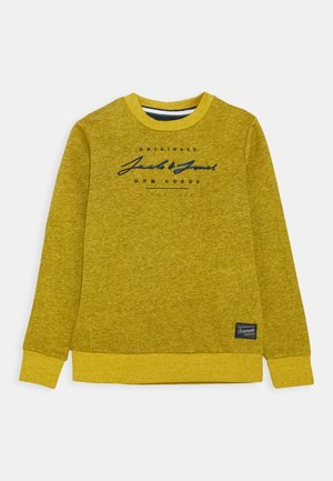JORSTATION CREW NECK - Sudadera - spicy mustard