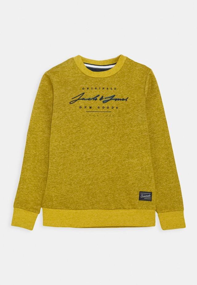 JORSTATION CREW NECK - Sweatshirt - spicy mustard