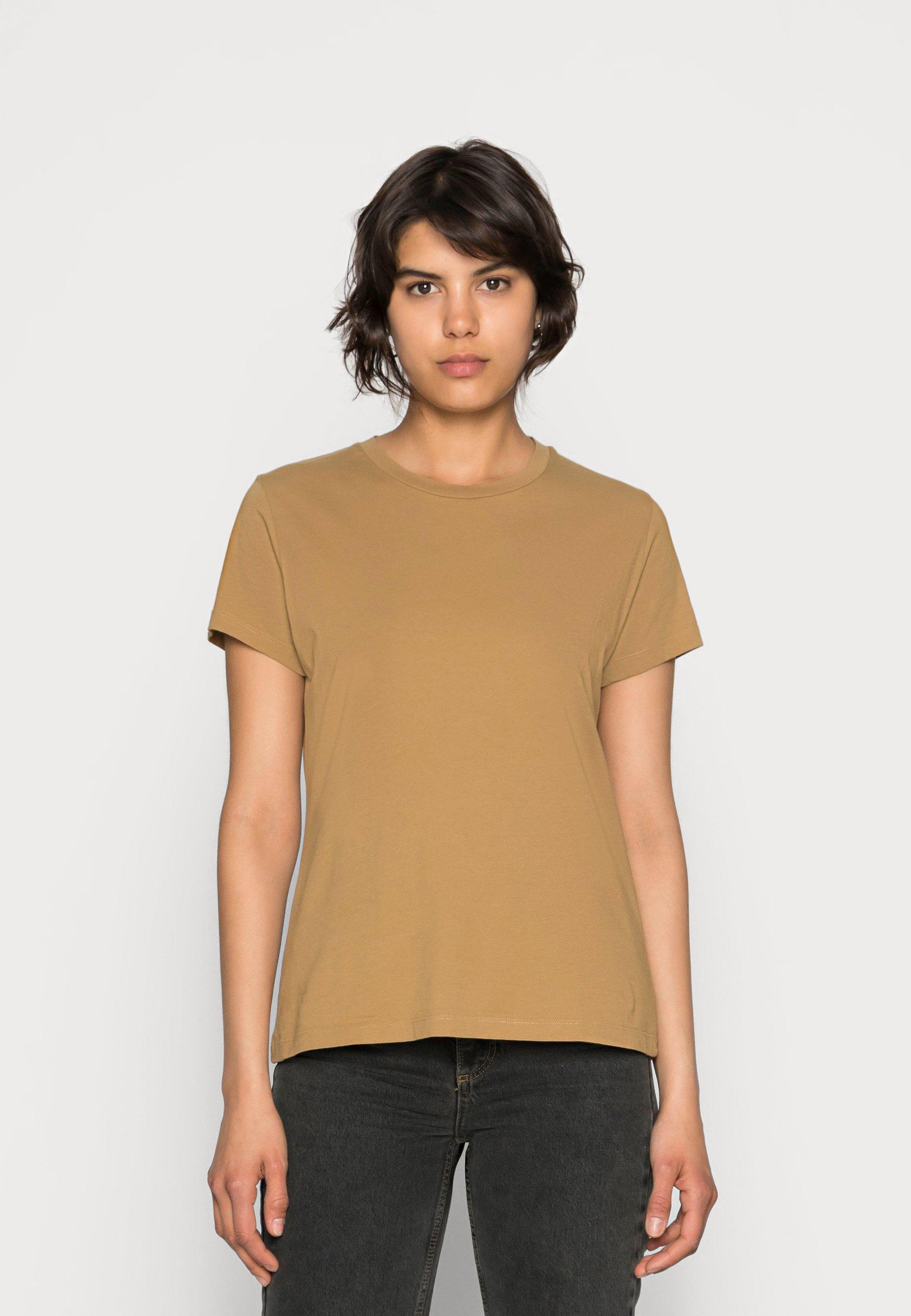 Damen SOLLY TEE SOLID - T-Shirt basic