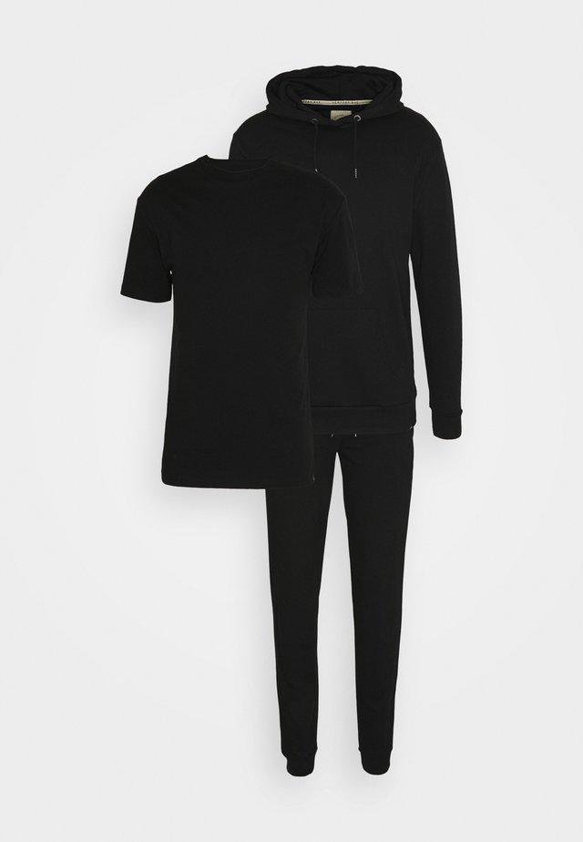 CORE LOUNGE SET - Basic T-shirt - black