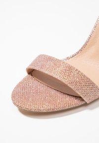 New Look - SCORPION - Sandály na vysokém podpatku - rose gold - 2