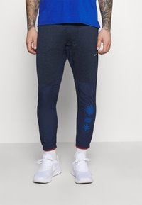 Nike Performance - ELITE PANT - Tracksuit bottoms - midnight navy/reflective silver - 0