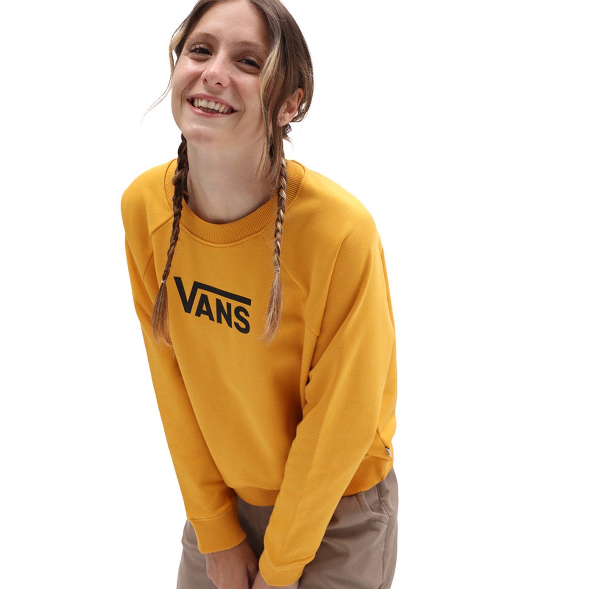 Damen WM FLYING V FT BOXY CREW - Sweatshirt
