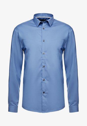 MASANTAL SLIM FIT - Kostymskjorta - bleu gris