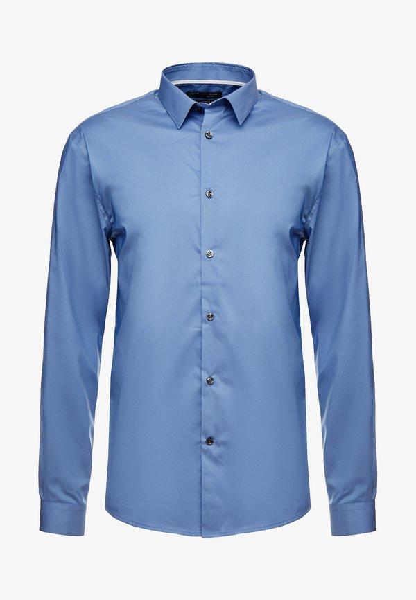 CELIO MASANTAL SLIM FIT - Koszula biznesowa - bleu gris/niebieski Odzież Męska NEYH