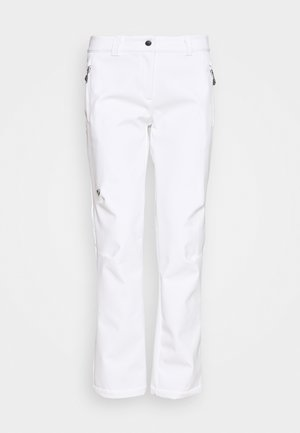 TALPA LADY - Snow pants - white