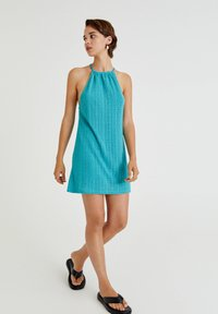 PULL&BEAR - Cocktail dress / Party dress - turquoise - 1