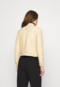 Deadwood - FRANKIE - Leather jacket - beige - 2
