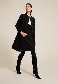 Luisa Spagnoli - STELLATO - Classic coat - nero - 0
