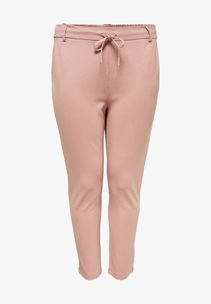 Trousers - misty rose