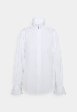 EUNCE LONG SLEEVE - Blouse - white