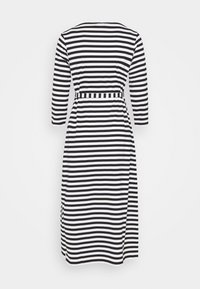 Marimekko - ILMA DRESS - Žerzejové šaty - black/white - 1