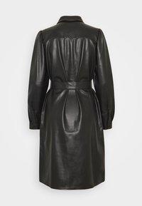 Freequent - HARLEY - Shirt dress - black - 1