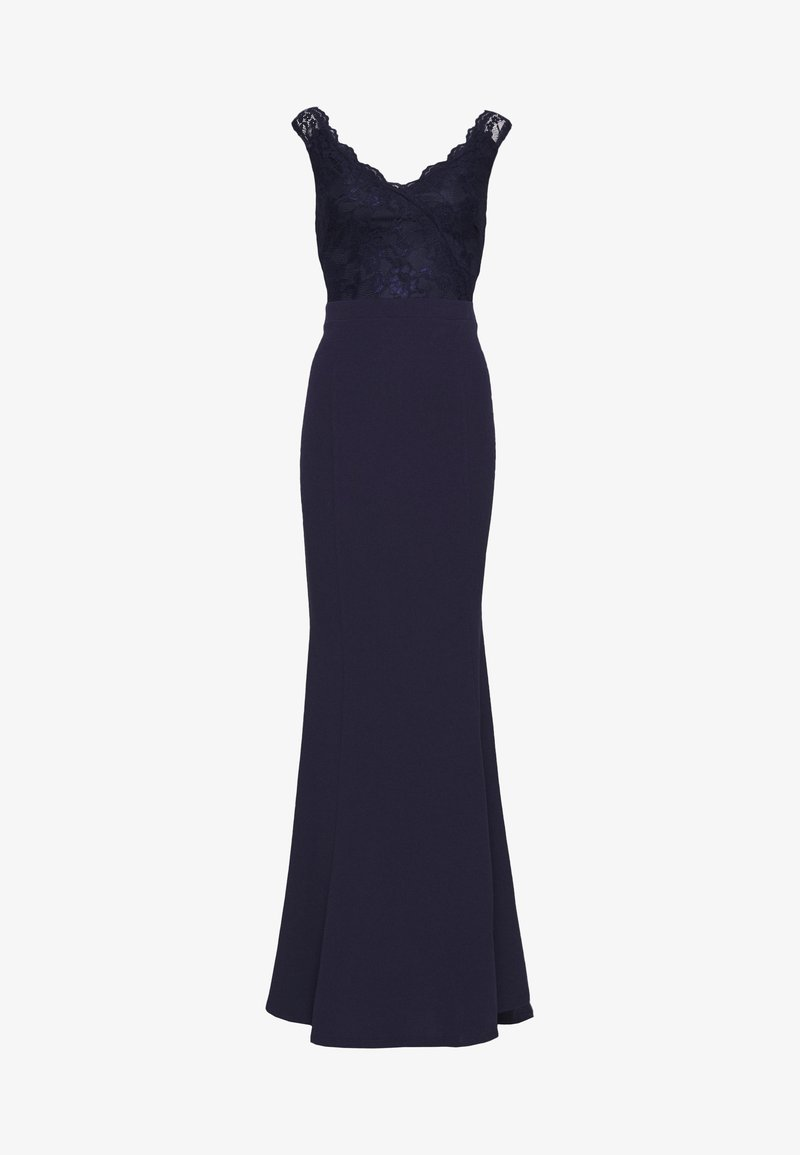 Nly by Nelly - WRAP LACE MERMAID GOWN - Vestido de fiesta - navy