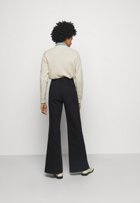 Polo Ralph Lauren - RELAXED WIDE LEG PANT - Trousers - black - 2