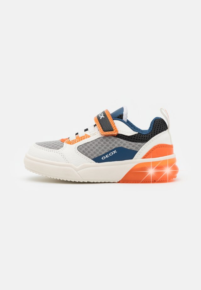 GRAYJAY BOY - Sneakers laag - white/orange