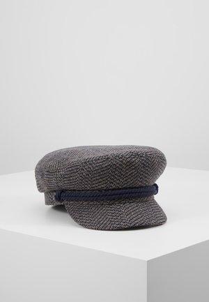 FIDDLER CAP - Huer - washed navy/mauve