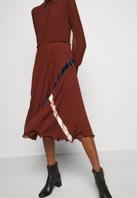 See by Chloé - Shirt dress - sepia brown - 4