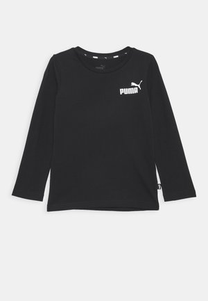 LOGO LONGSLEEVE  - T-shirt à manches longues - cotton black