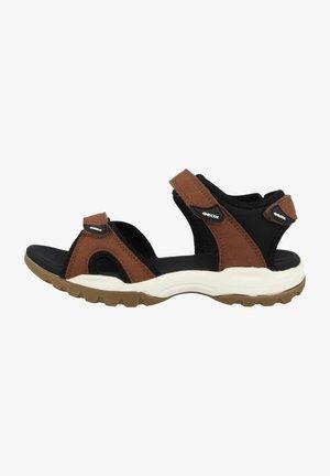 BOREALIS - Walking sandals - brown/black