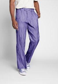 Hope - HIDE TROUSER - Trousers - purple - 0