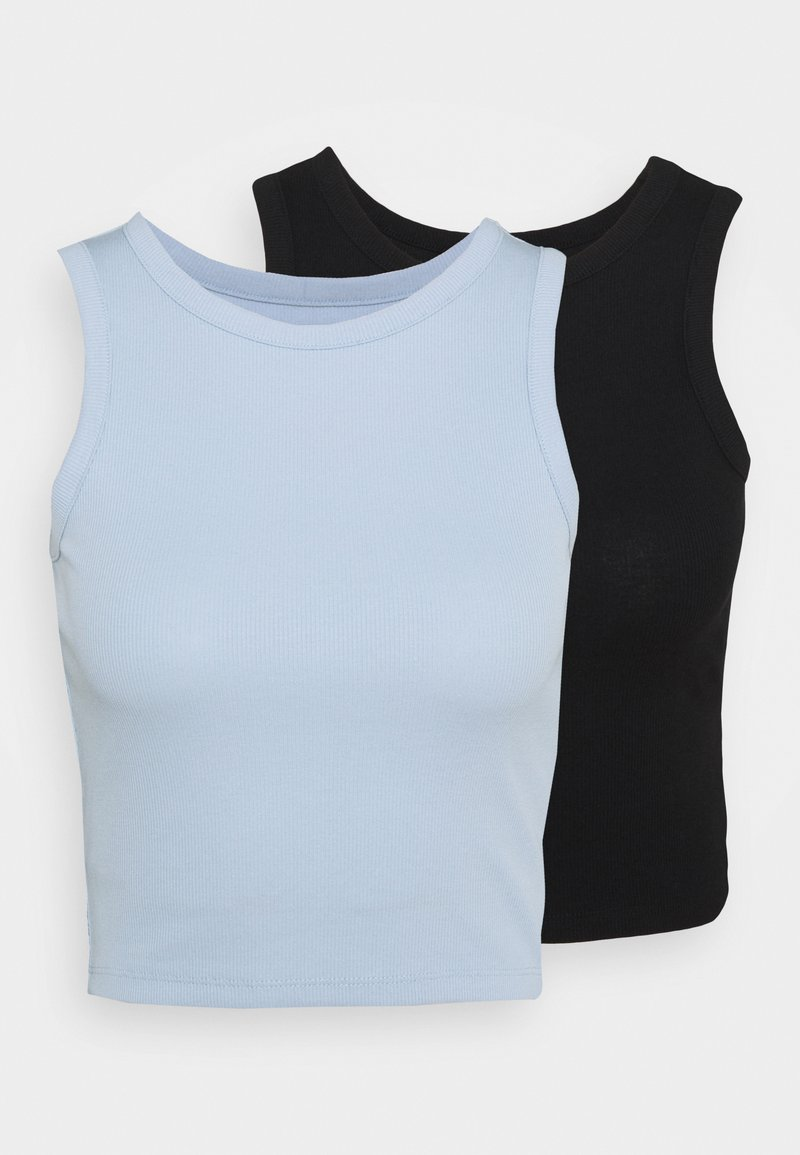 Even&Odd - 2 PACK  - Top - black/blue