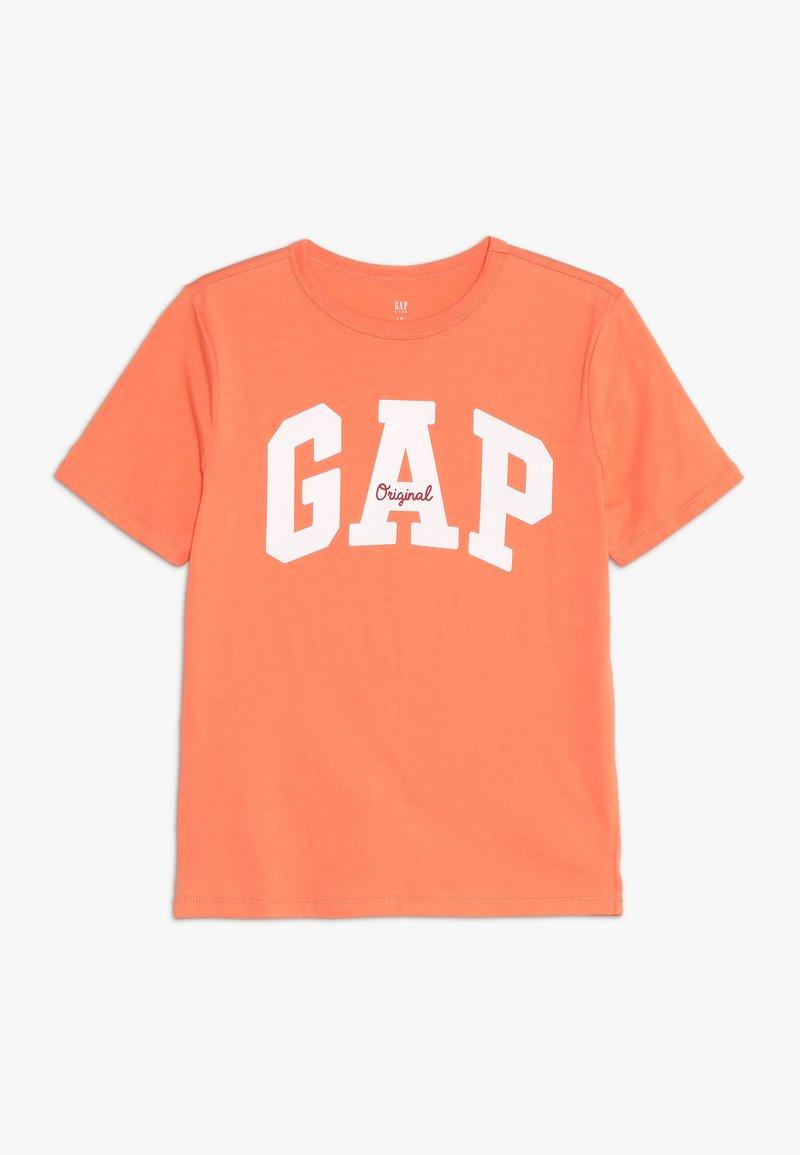 GAP - BOY MAY - Triko spotiskem - jos orange