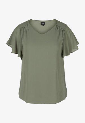 Basic T-shirt - agave green