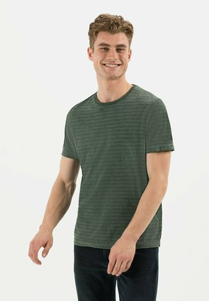 KURZARM - Print T-shirt - leaf green