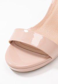 New Look - QUEEN - Sandály na vysokém podpatku - oatmeal - 2