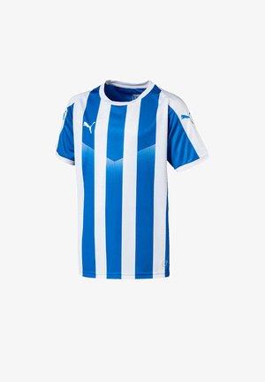 LIGA  - Print T-shirt - blauweiss